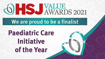 Paediatric care initiative of the year banner