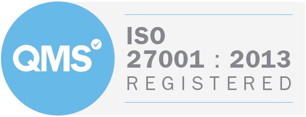 ISO27001:2012 badge